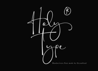 Holy Type Handwritten Font