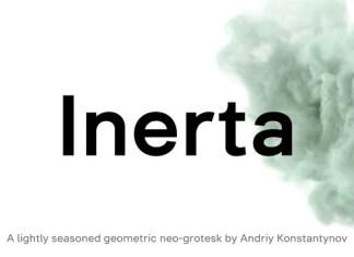 Inerta Sans Serif Font