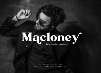 Macloney Serif Font