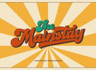 Mainstay Bold Script Font