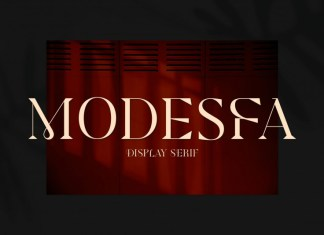 Modesfa Serif Font