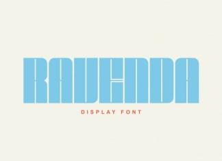 Ravenda Display Font