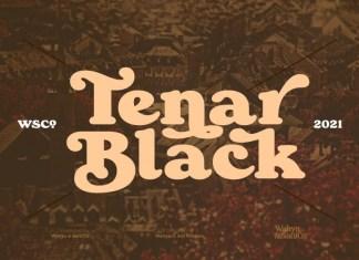 Tenar Black Serif Font