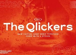 The Qlickers Sans Serif Font