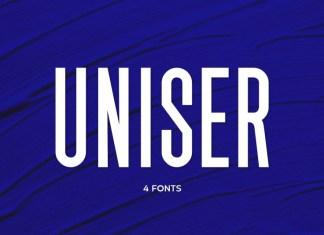 Uniser Sans Serif Font