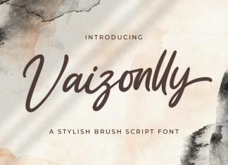 Vaizonlly Script Font