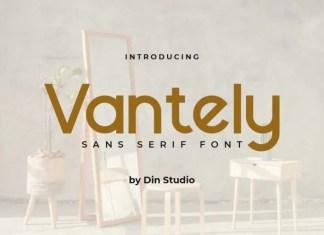 Vantely Sans Serif Font