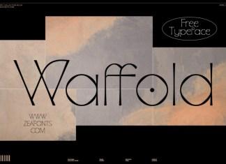 Waffold Sans Serif Font