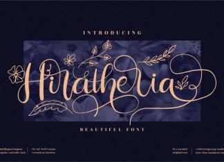 Hiratheria Calligraphy Font
