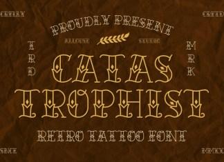 Catastrophist Display Font