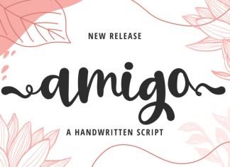 Amigo Calligraphy Font