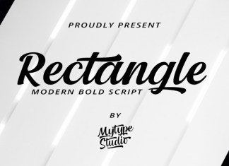 Rectangle Script Font