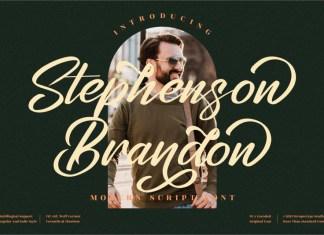Stephenson Brandon Script Font