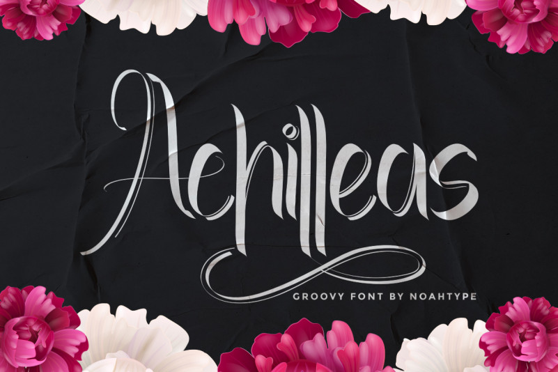 Achilleas Calligraphy Font