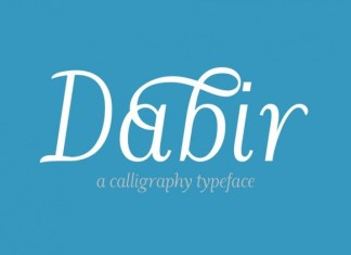 Dabir Sans Serif Font