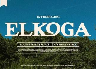 Elkoga Serif Font