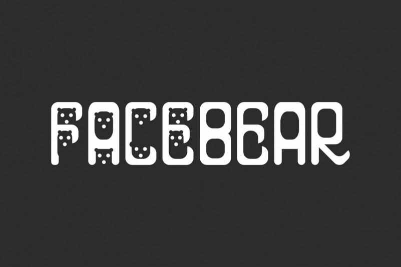Facebear Display Font