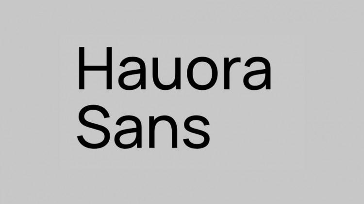 Hauora Sans Serif Font