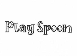 Play Spoon Display Font