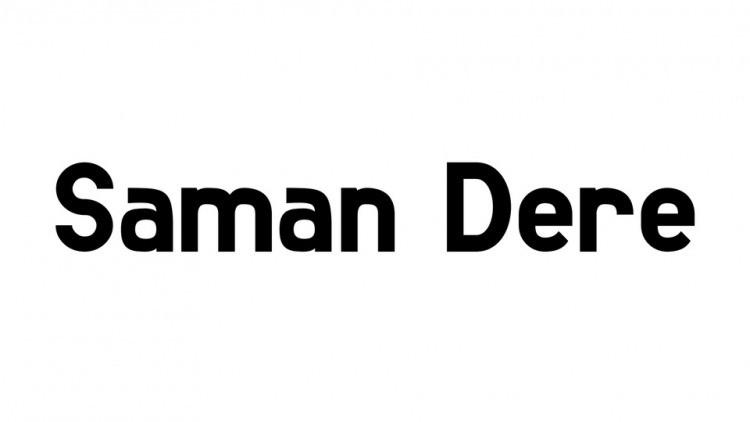 Saman Dere Sans Serif Font