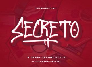 Secreto Display Font