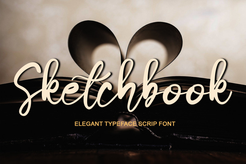Sketchbook Script Font