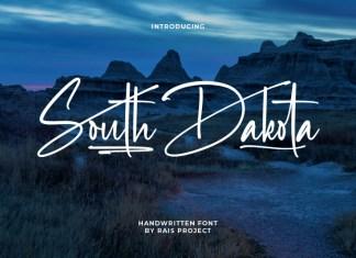 South Dakota Handwritten Font