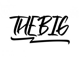 Thebig Brush Font
