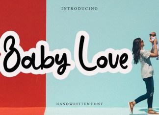 Baby Love Display Font