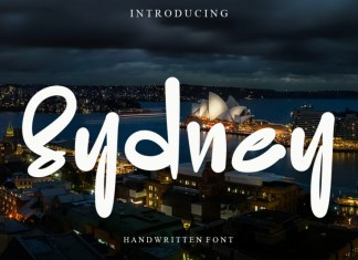Sydney Script Font