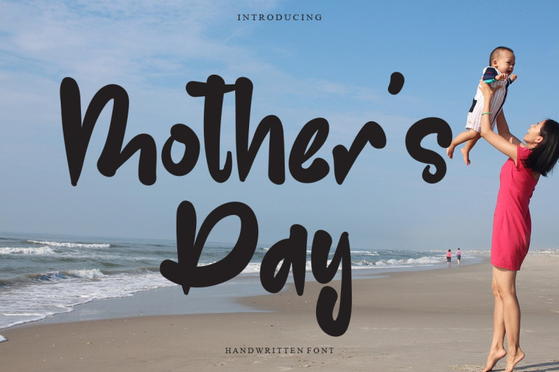 Mother's Day Display Font