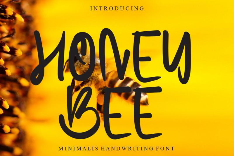 Honey Bee Display Font