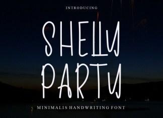 Shelly Party Handwritten Font