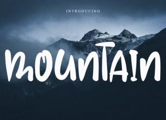 Mountain Display Font