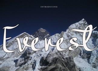 Everest Script Font