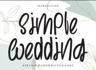 Simple Wedding Font