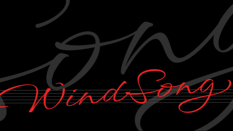 Windsong Calligraphy Font