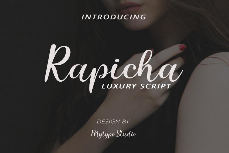 Rapicha Script Font