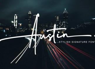 Austin Handwritten Font