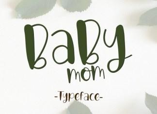 Babymom Script Font