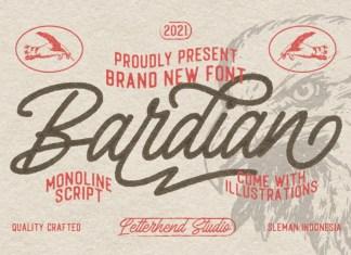 The Bardian Handwritten Font