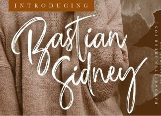 Bastian Sidney Brush Font