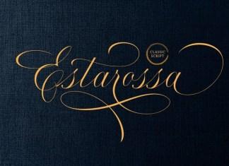 Estarossa Calligraphy Font