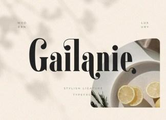 Gailanie Serif Font