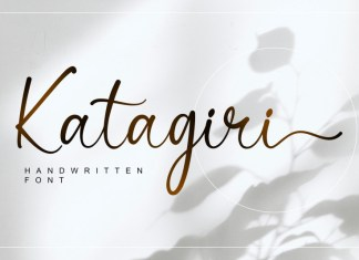 Katagiri Script Font