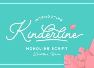 Kinderline Script Font