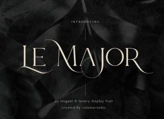 Le Major Serif Font