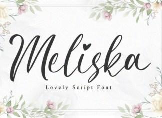 Meliska Script Font