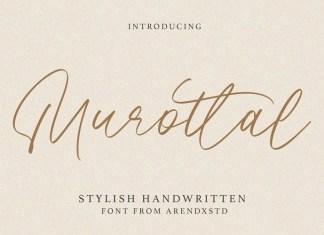 Murottal Handwritten Font