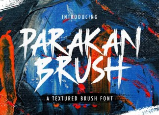 Parakan Brush Font